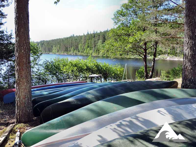 Grundkurs Kanadier - Teil 1 Stillgewässer (Schweden)