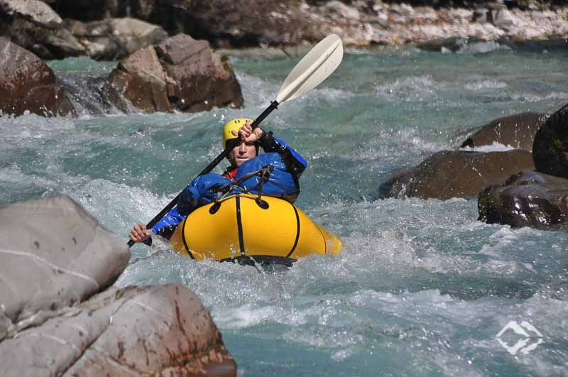 Whitewater Packrafting course Soca (Slovenia)