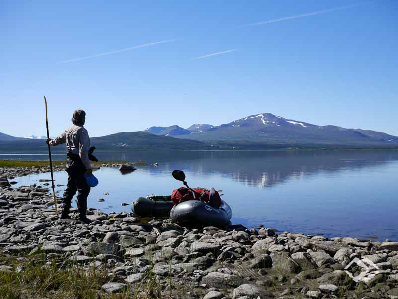 Packrafting expedition course Sylan-Mountains-Tour (Norway)