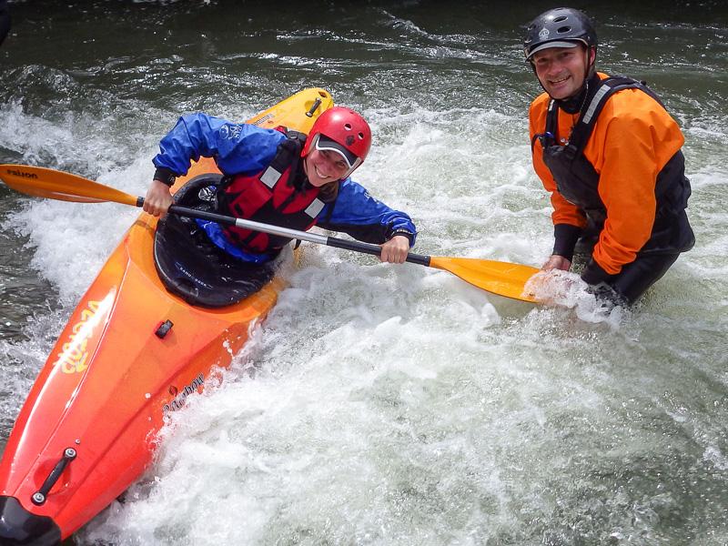 Kajak Grundkurs Wildwasser- Einsteiger in Hildesheim